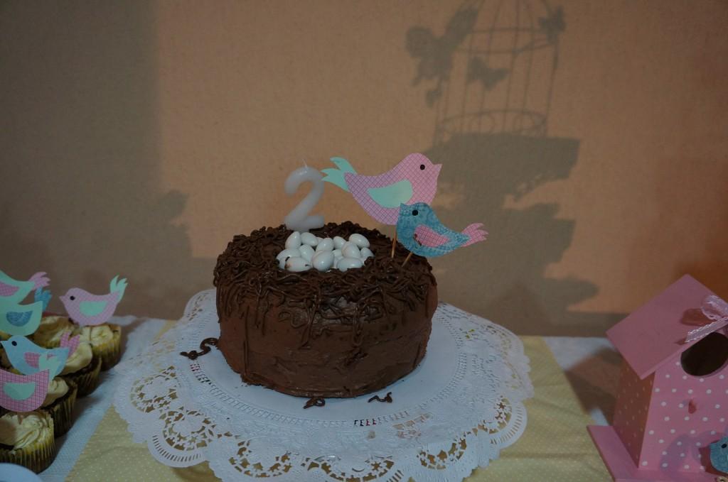 Bolo - Festa Infantil Passarinhos
