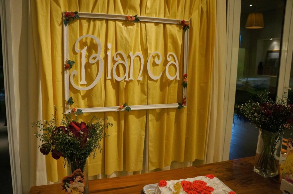 decoração festa bela