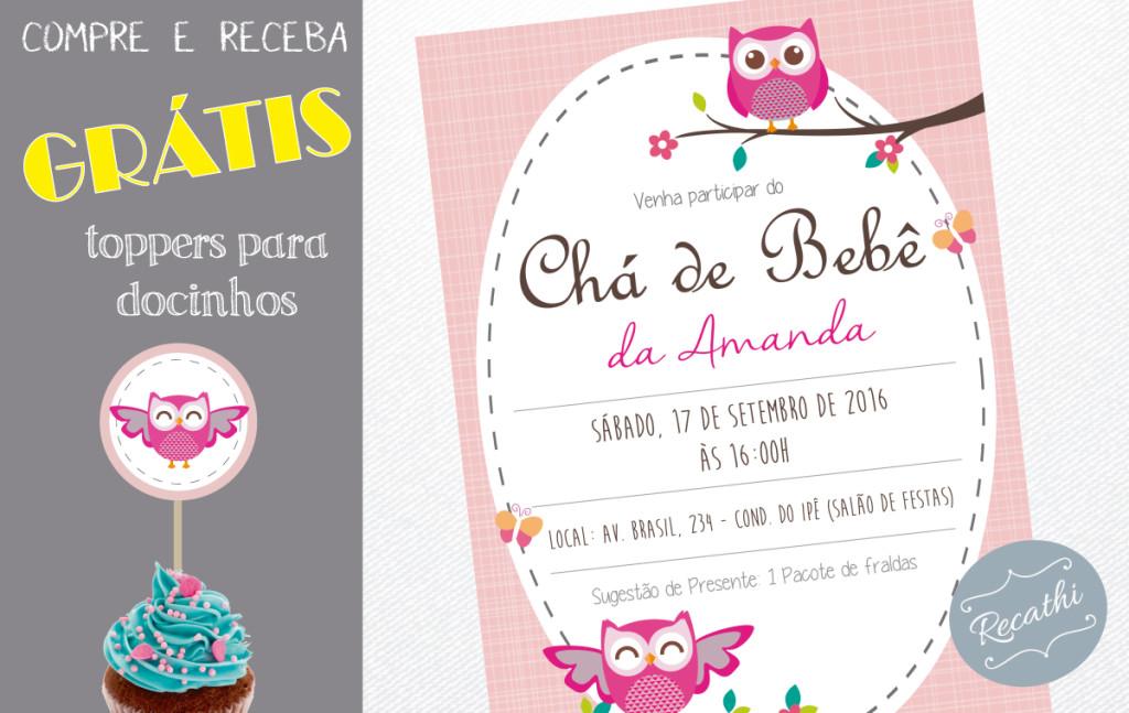 convite-coruja-rosa-elo7-brinde